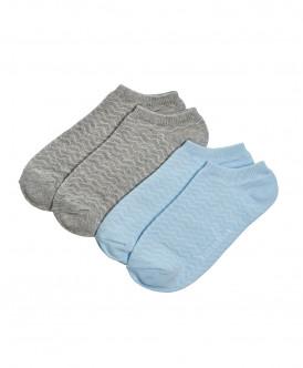 Носки (комплект из 2 пар) Button Blue