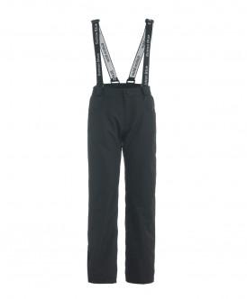 Черные демисезонные брюки Active