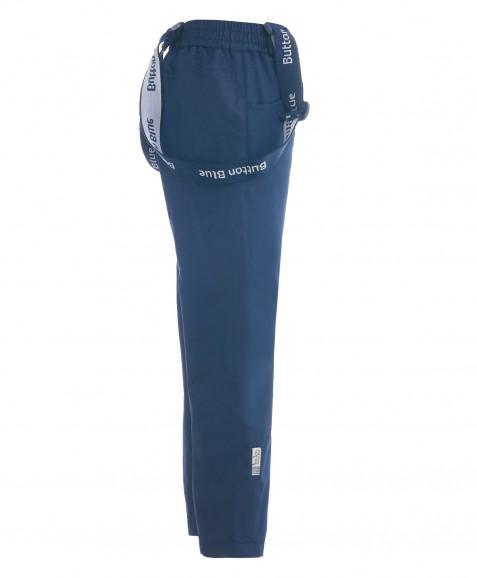 Синие демисезонные брюки Active