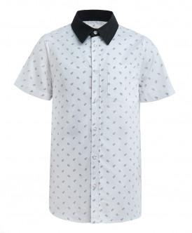 Белая рубашка с орнаментом