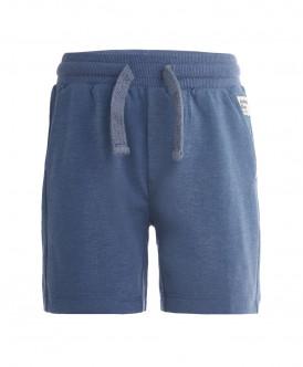 Синие трикотажные шорты