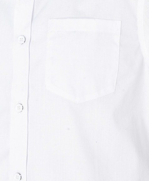 Хлопковая рубашка с коротким рукавом