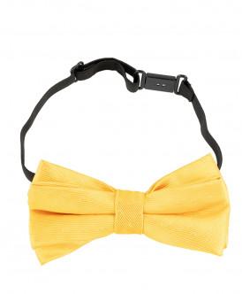 Желтый галстук-бабочка Button Blue