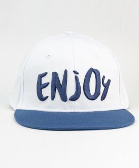 Сине-белая бейсболка для мальчика Button Blue