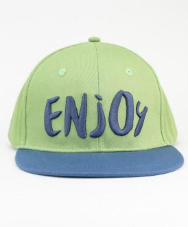 Сине-зеленая бейсболка для мальчика Button Blue