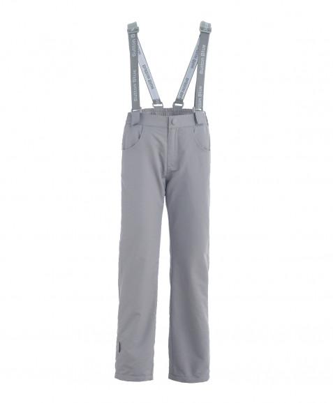 Серые демисезонные брюки Active