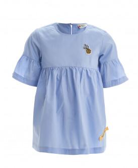 Голубая блузка
