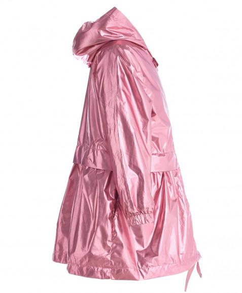 Розовая ветровка