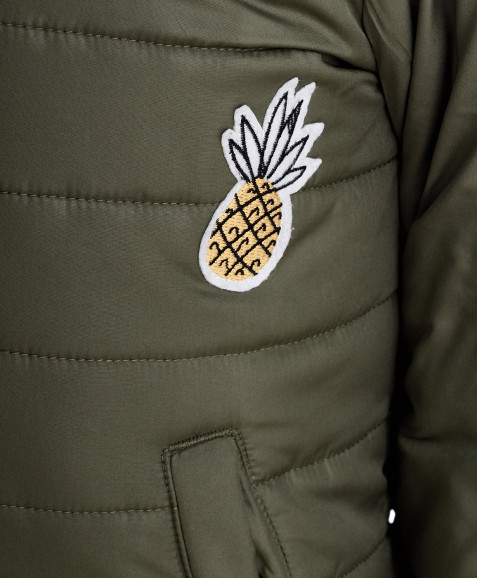 Демисезонное пальто, хаки