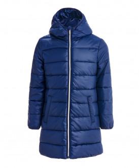 Синее демисезонное пальто 119BBGC45021000 фото