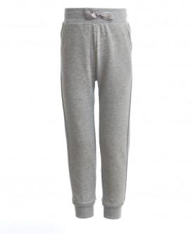 Серые брюки для девочки