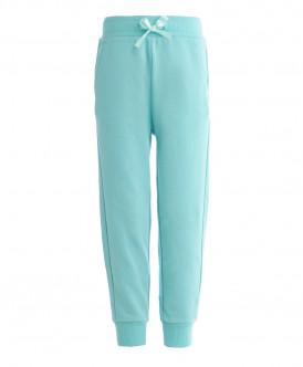 Ментоловые брюки из футера