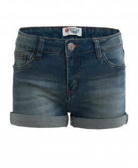 Голубые джинсовые шорты Button Blue