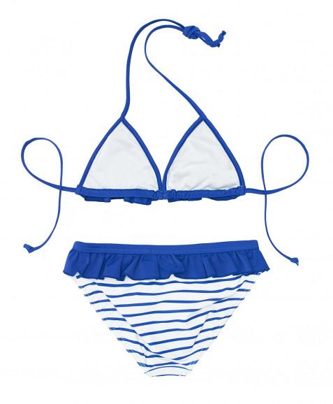 Синий купальник