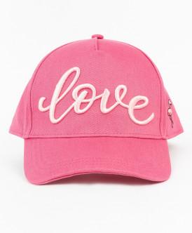 Розовая бейсболка для девочки