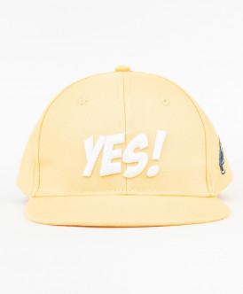 Желтая бейсболка для девочки