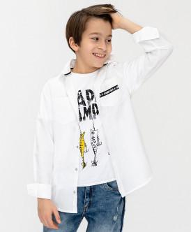 Рубашка с принтом 120BBBC23010200 фото