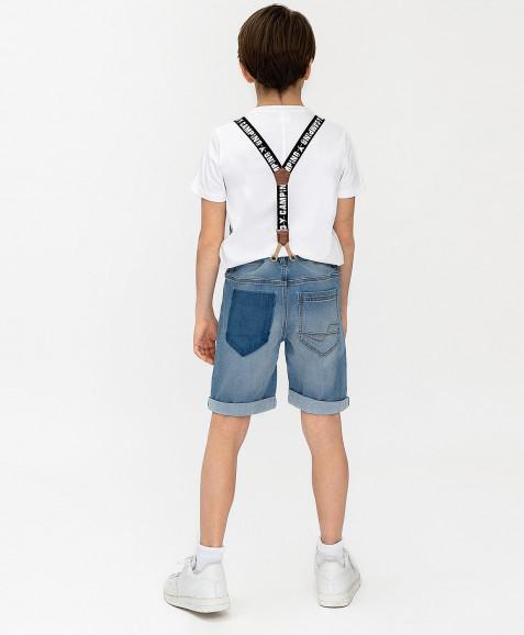 Джинсовые шорты Button Blue