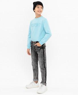 Серые джинсы Slim Fit 120BBBC6305D300 фото