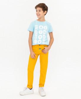 Желтые брюки 120BBBC63082700 фото