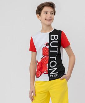 Комплект из 2 футболок Button Blue