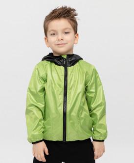 ветровка button blue для мальчика, зеленая