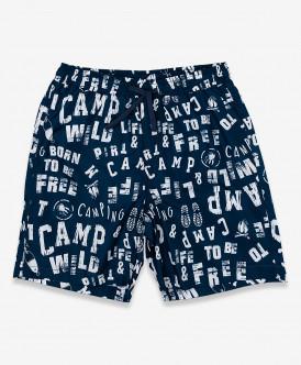 Синие плавательные шорты