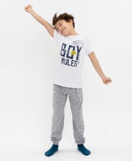 Пижама с брюками для мальчика