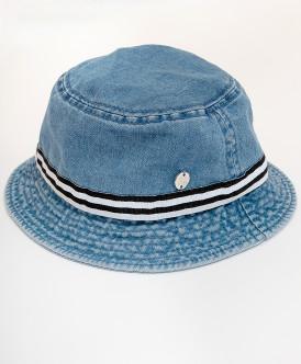 панама button blue для мальчика, голубая