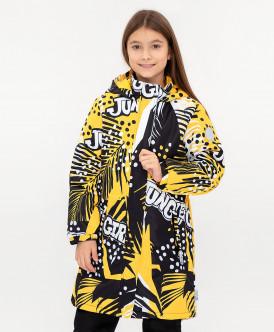 Демисезонное пальто Active для девочки Button Blue