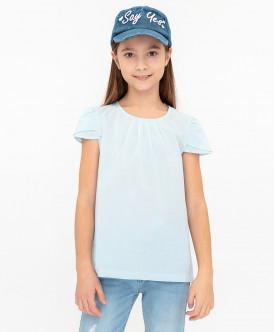 Хлопковая блузка Button Blue