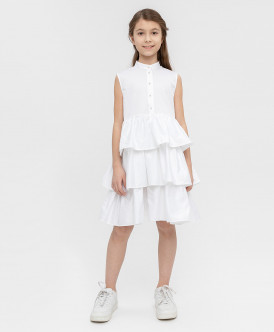 Белое платье 120BBGC25010200 фото