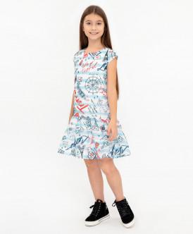Платье с орнаментом 120BBGC25040213 фото