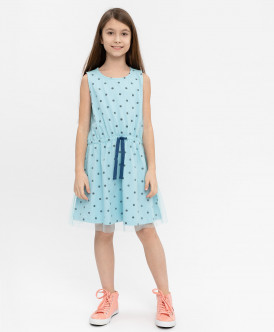 Голубое платье Button Blue