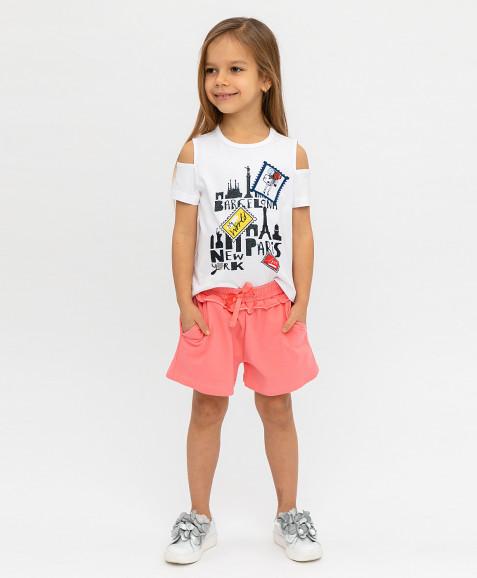 Розовые шорты