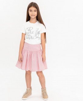 Розовая юбка 120BBGC61023505 фото