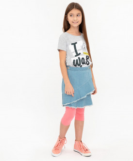 Джинсовая юбка 120BBGC6103D200 фото