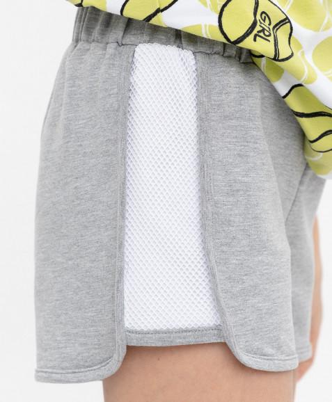 Серые шорты