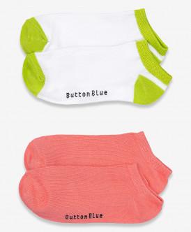 носки button blue для девочки, белые