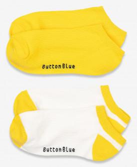 носки button blue для девочки, желтые