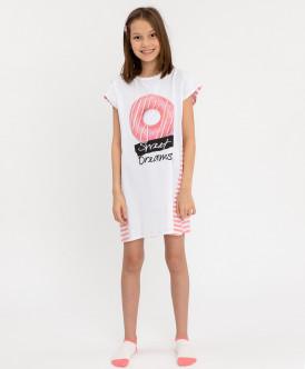 Ночная сорочка с принтом