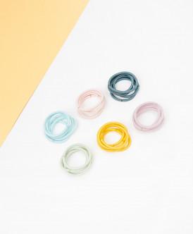 Комплект резинок для волос, 30 шт. Button Blue