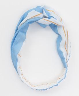 Повязка для волос Button Blue