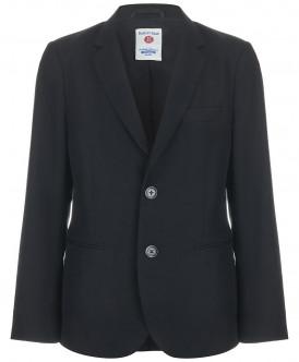 пиджак button blue для мальчика, черный