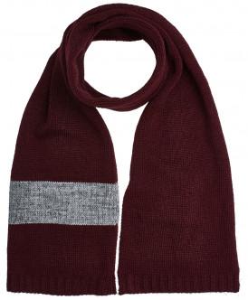 шарф button blue для мальчика, красный