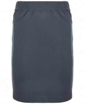 юбка button blue для девочки, серая