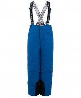 Синие утепленные зимние брюки 219BBBA64025900 фото