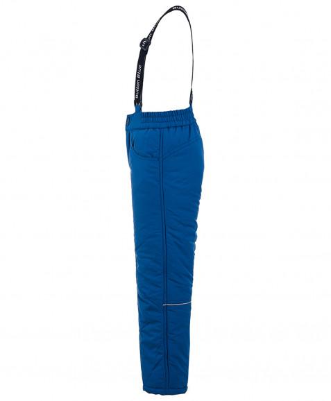 Синие утепленные зимние брюки