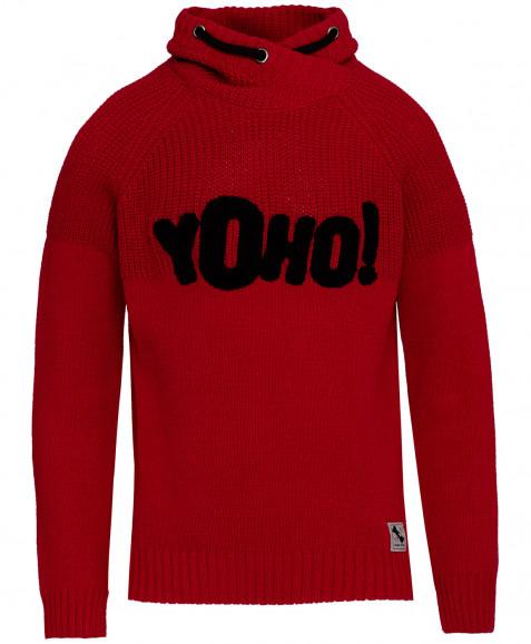 Красный свитер