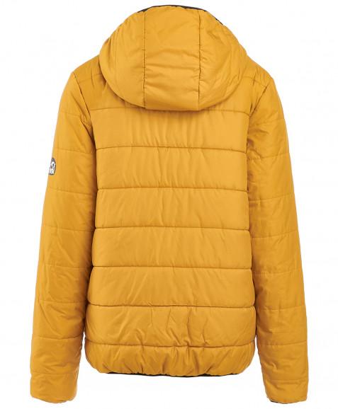 Демисезонная куртка горчичного цвета